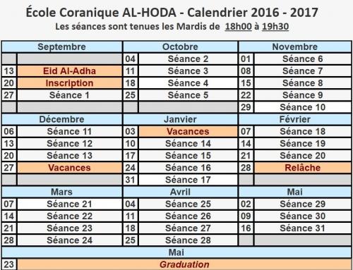 Hoda Programme 2016/2017