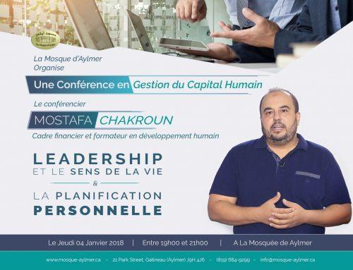 Conférence en Gestion du Capital Humain