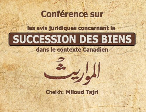 Conférence sur la succession des biens