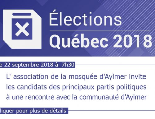 Invitation élection 2018