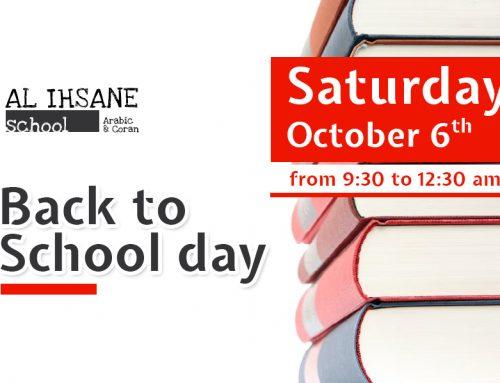 Al-Ihsane School 1st day
